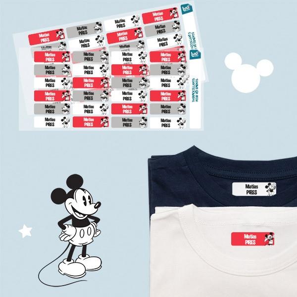 Pack de etiquetas personalizadas para roupa