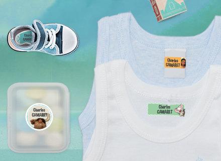 Marcar a Roupa para o Infantário com Vaiana