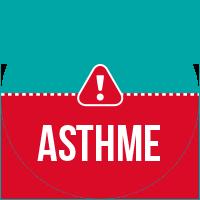 Etiquette Alerte Asthmatique