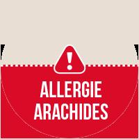 Etiquette Allergie Arachides