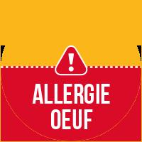 Etiquette Allergie Oeuf