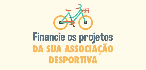 Financie os projetos da sua associação desportiva