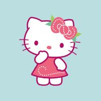 Hello Kitty ambiente estival