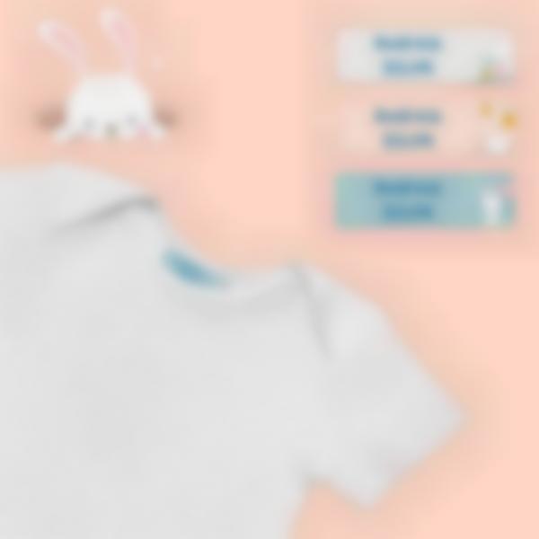 4.pack de etiquetas creche coelho