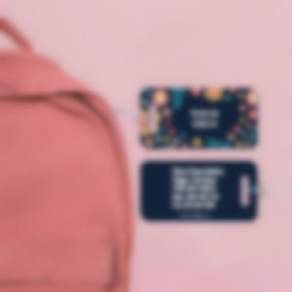 Etiquetas para bagagem 1