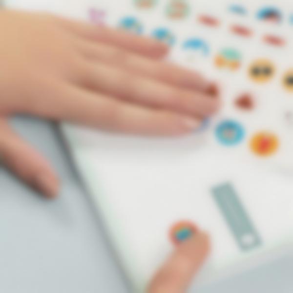 etiquetas para identificar todo o material de scritorio 3