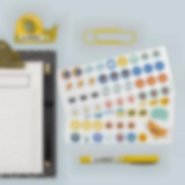 etiquetas para identificar todo o material de scritorio 5