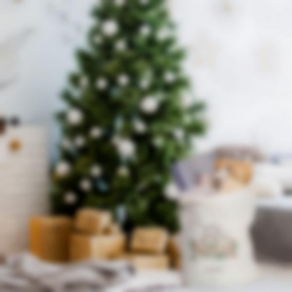 a cabaz personalizado do pai natal feliz natal 1