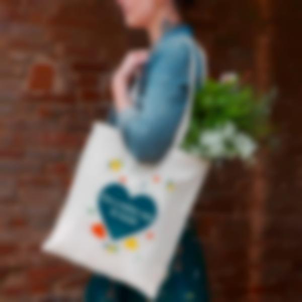 bolsa de tecido tote bag shopping 2