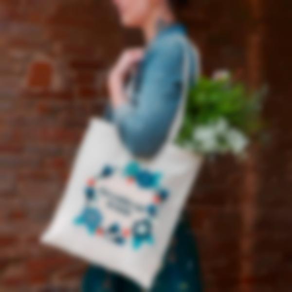 bolsa de tecido tote bag shopping 4