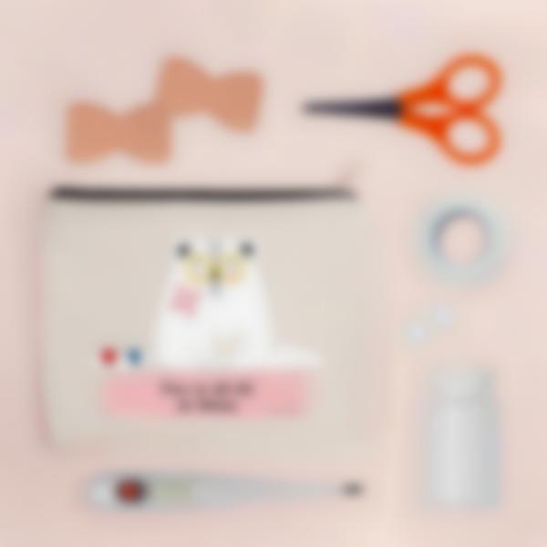 estojo de primeiros socorros personalizado gato 1