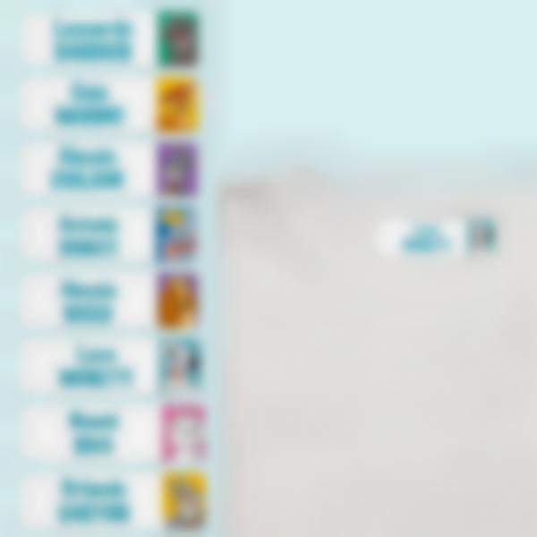 etichette termoadesive da stirare disney animals