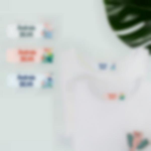 etiquetas autocolantes para roupa ludistart 2