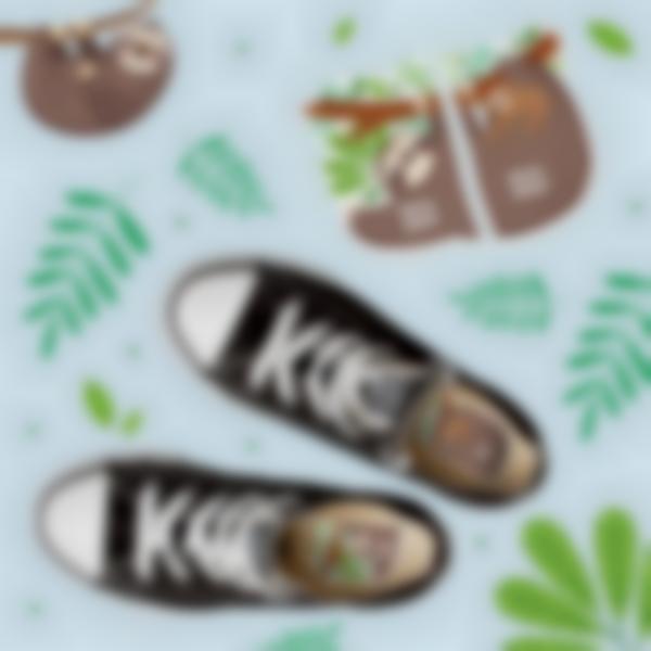 etiquetas intuitivas para calcado preguicoso