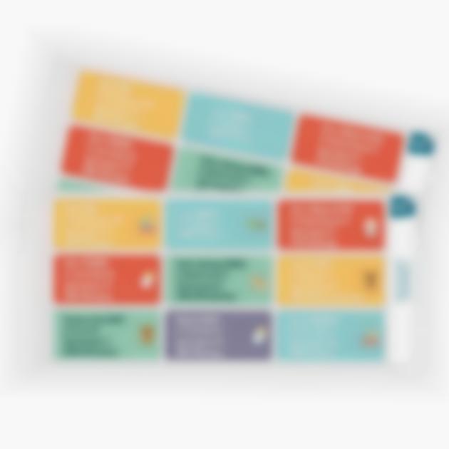 etiquetas moradas para convites nascimento