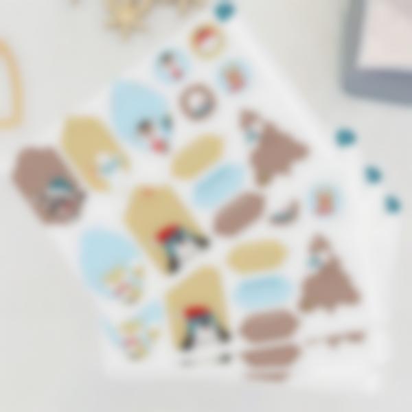 etiquettes noel cadeaux enfants animaux ludilabel 2 3
