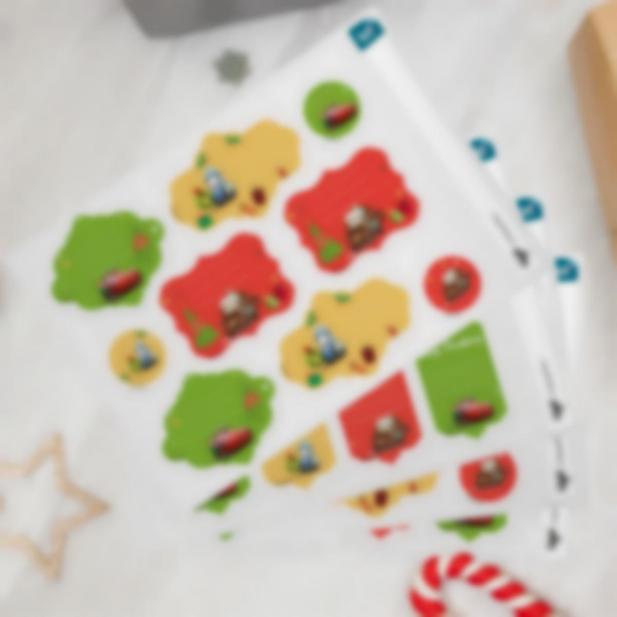 etiquettes noel cadeaux enfants cars3 disney 1 1