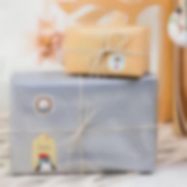 etiquettes noel ludilabel paquet cadeau