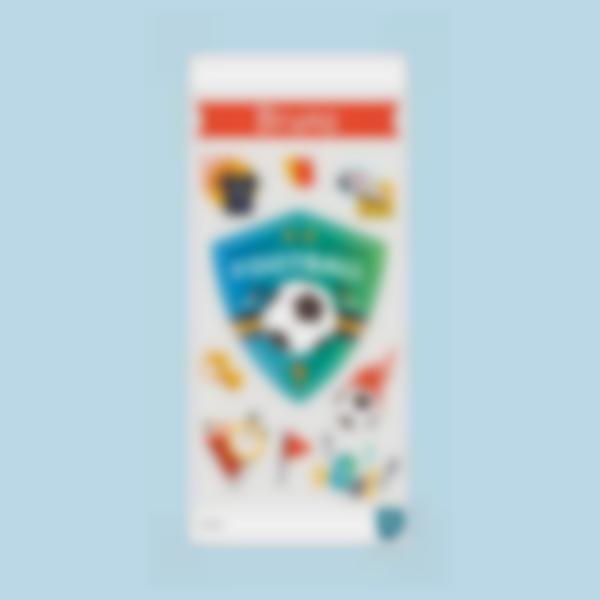 futebol ludilabel stickers garrafa agua 2