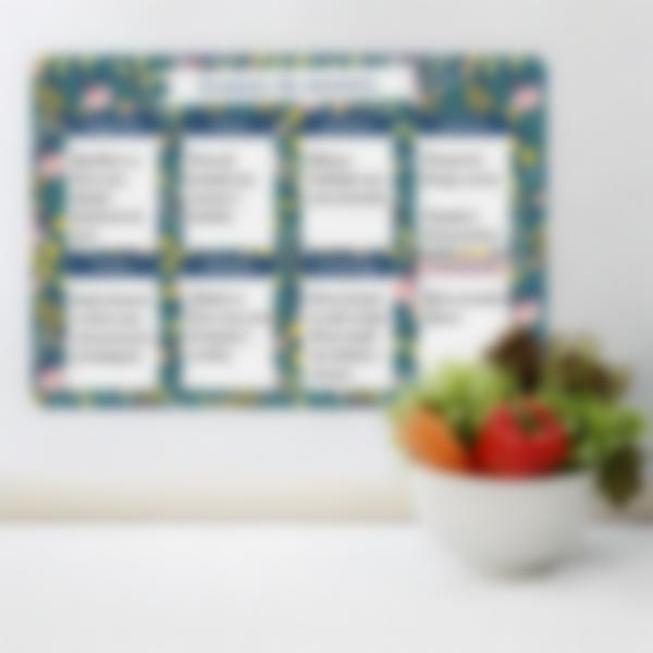 planning menu flowers pt