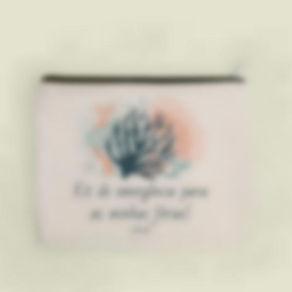 pochette tecido personalizada corais 1