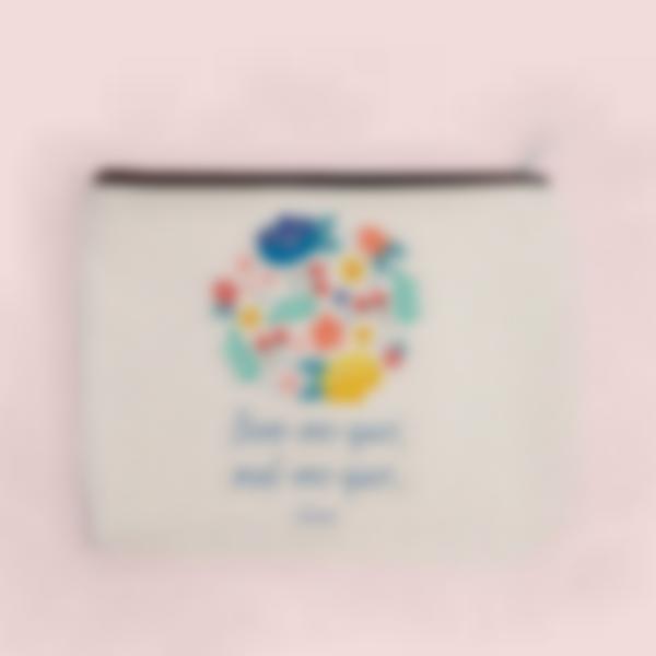 pochette tecido personalizada coroa flores 3 2