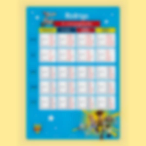 poster educativo conjugacao toy story 4 1
