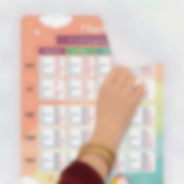 poster educativo personalizado tablas de conjugacion 0 1