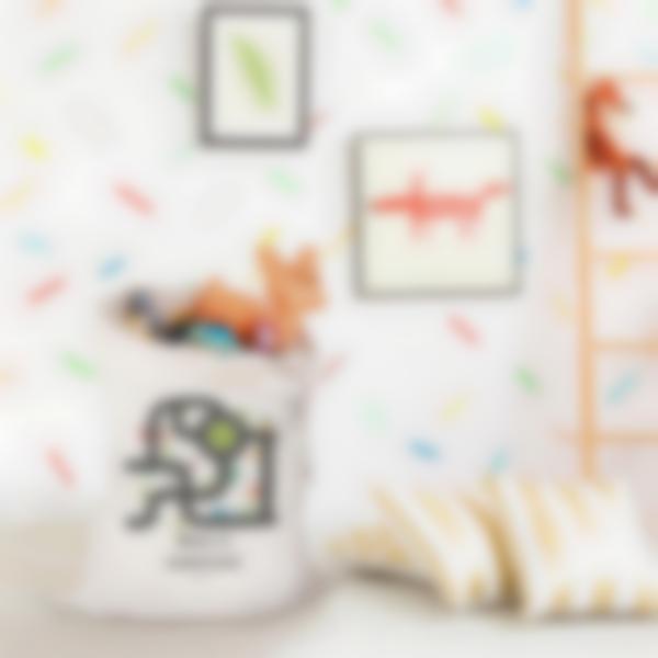 saco textil ilustrado e personalizado para brinquedos 9
