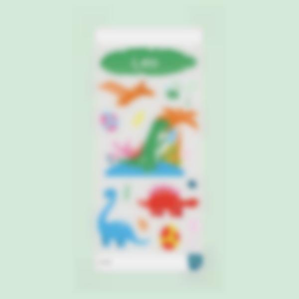 stickers garrafa agua infanteis dinossauro 2