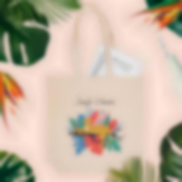 totebag jungle vibes ambiance fr