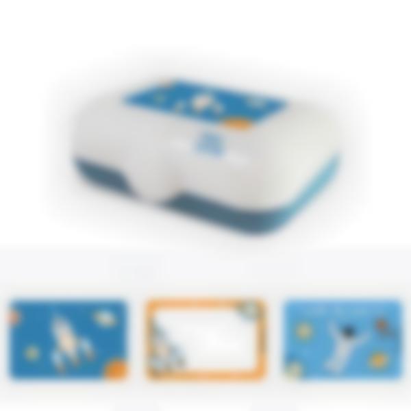 Ludibox - Lancheira azul – Espaço