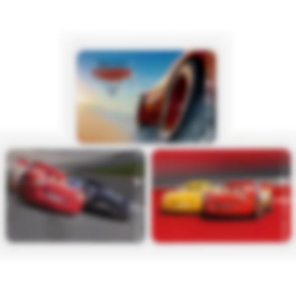 Recarga de 3 cartões magnéticos para Ludibox – lancheira – Disney Pixar Carros 3