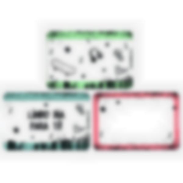 Recarga de 3 cartões magnéticos para Ludibox – lancheira – Cultura Skate