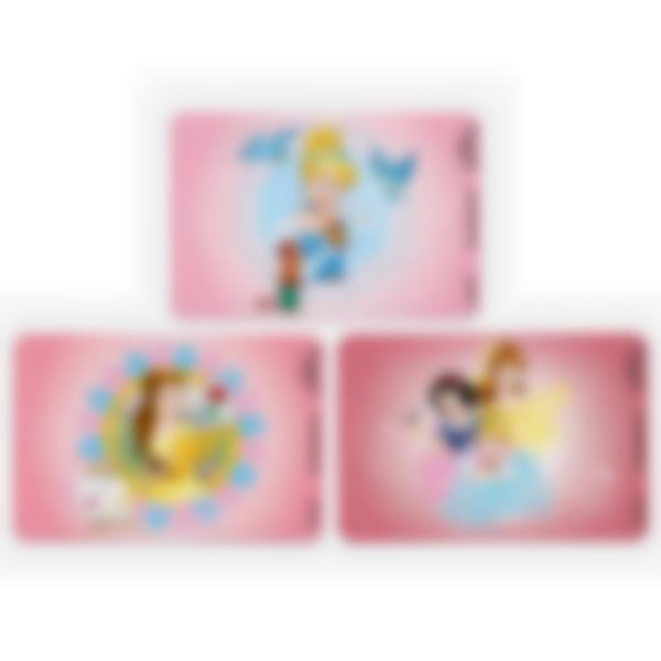 Recarga de 3 cartões magnéticos para Ludibox – lancheira – Disney Princesas