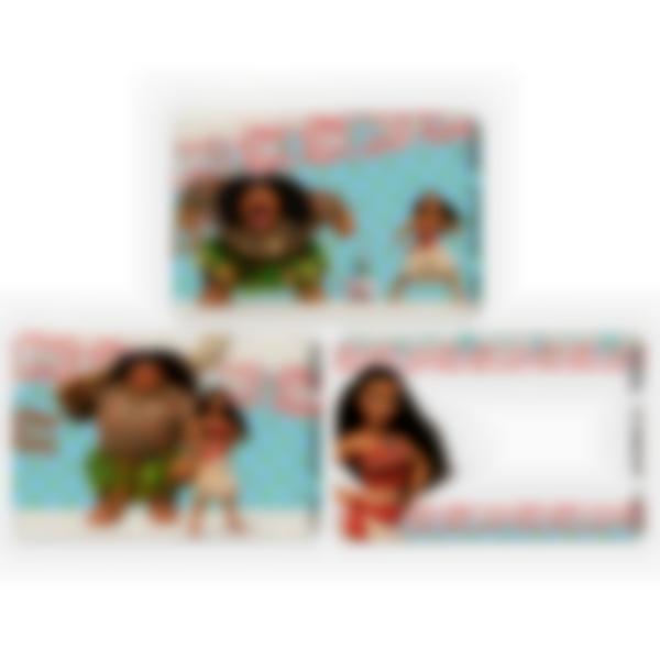 Recarga de 3 cartões magnéticos para Ludibox – lancheira – Disney Vaiana