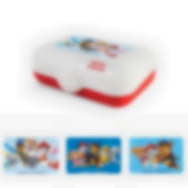 Ludibox - Boîtes à goûter rouge- Pat Patrouille