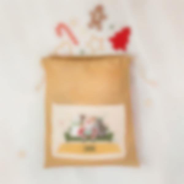 Cabaz do Pai Natal personalizado - Família