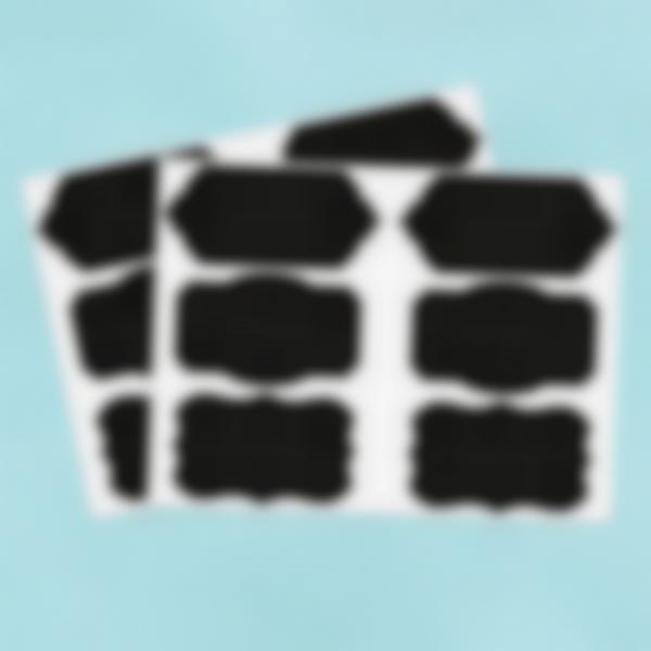 12 etiquetas grandes Ardósia apagavéis – Barrocas