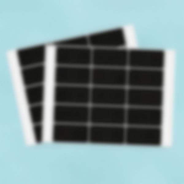 30 etiquetas pequenas Ardósia apagavéis – Retângulos