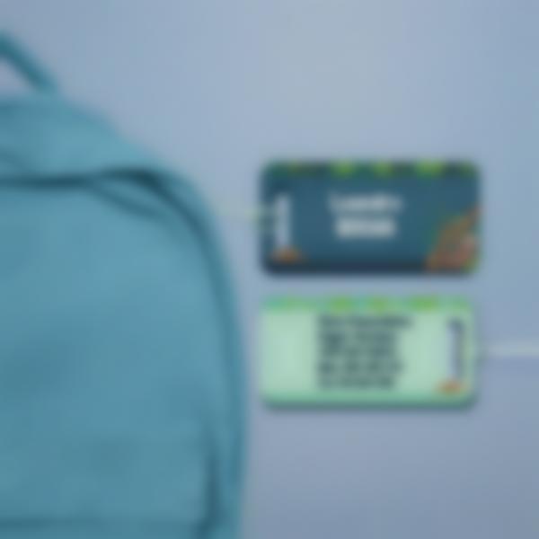 Etiqueta(s) para bagagem