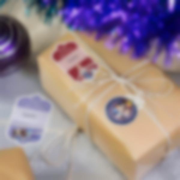 Etiquetas para identificar os presentes de Natal - Frozen