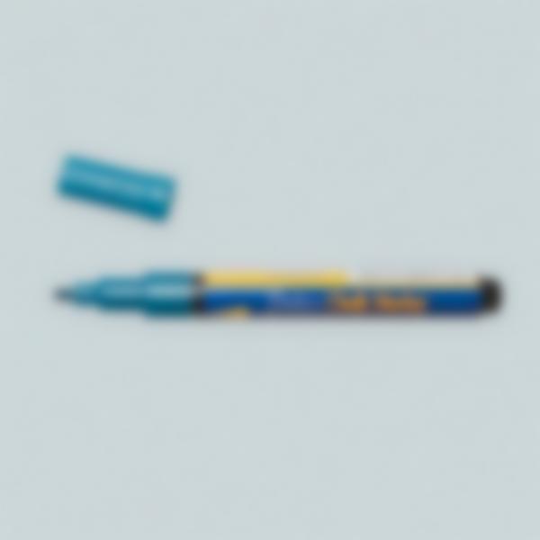 Caneta giz líquido - Azul Metálico
