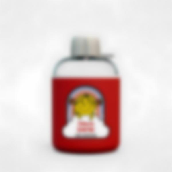 Garrafa infantil isotérmica plana vermelha - Little Miss Sunshine
