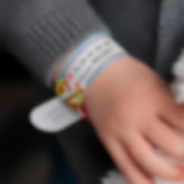 Pulseira identificação criança se perdida - Paw Patrol