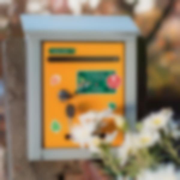 Kit autocolantes caixa de correio