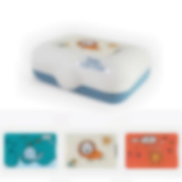 Ludibox - Lancheira azul - Desenhos De Criança