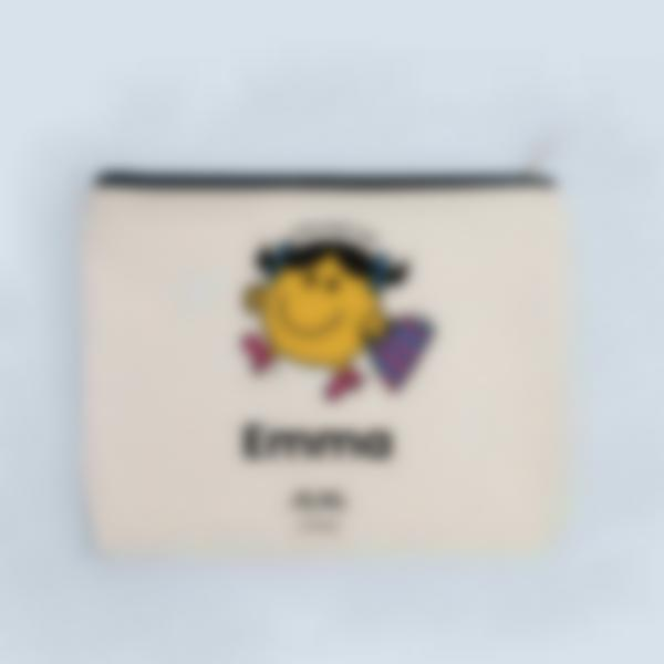 Pochete de tecido personalizada - Little Miss Tidy