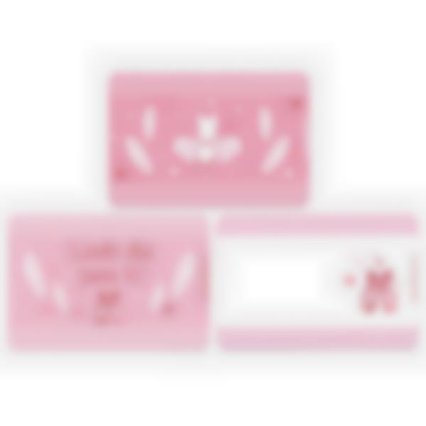 Recarga de 3 cartões magnéticos para Ludibox – lancheira – Bailarina