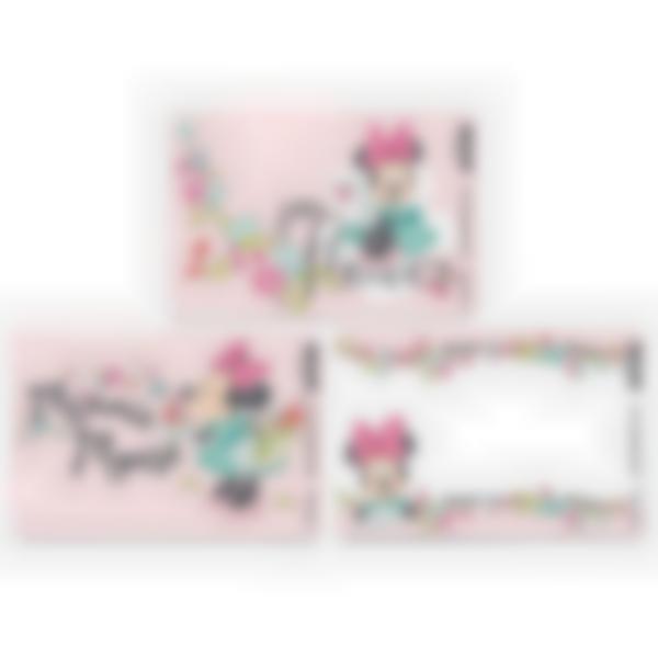 Recarga de 3 cartões magnéticos para Ludibox – lancheira – Disney Minnie